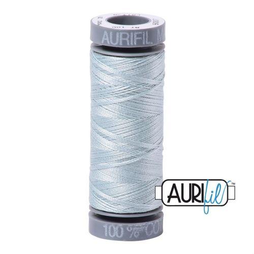 Aurifil Cotton 28wt, 5007 Light Grey Blue