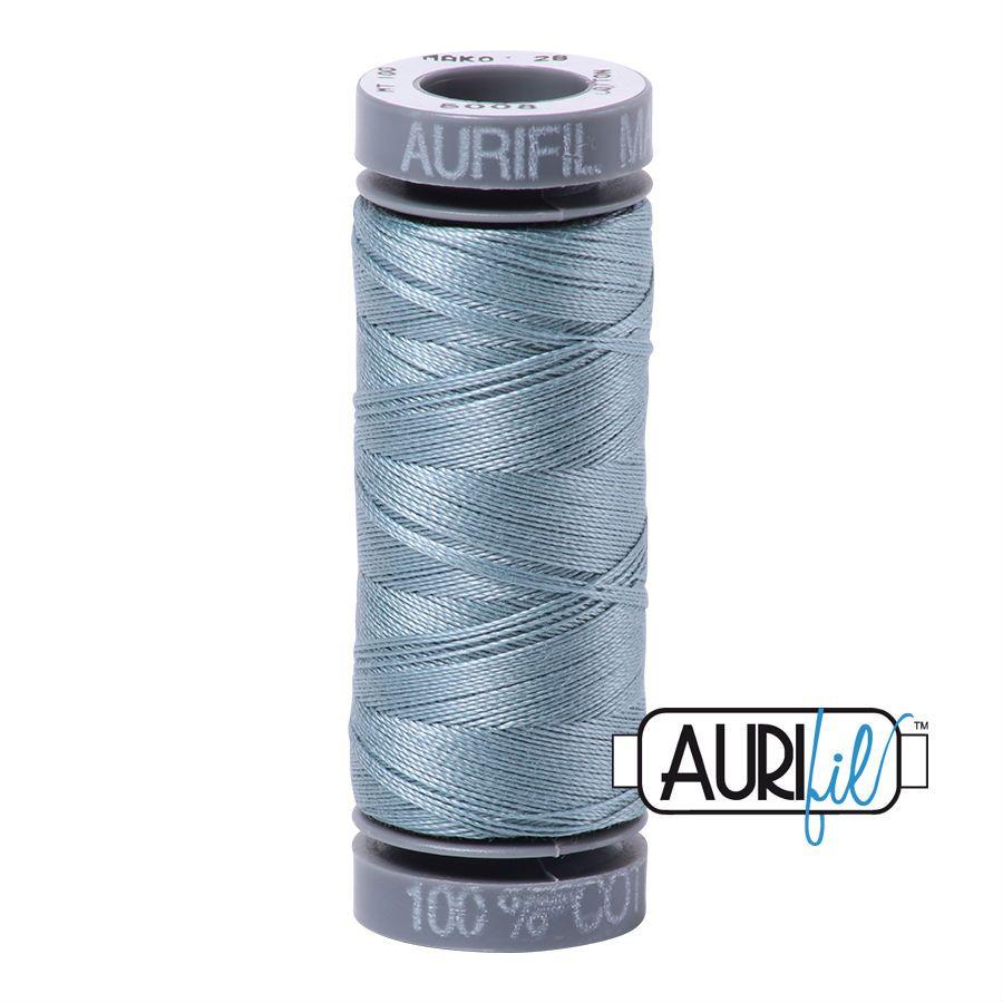 Aurifil Cotton 28wt, 5008 Sugar Paper