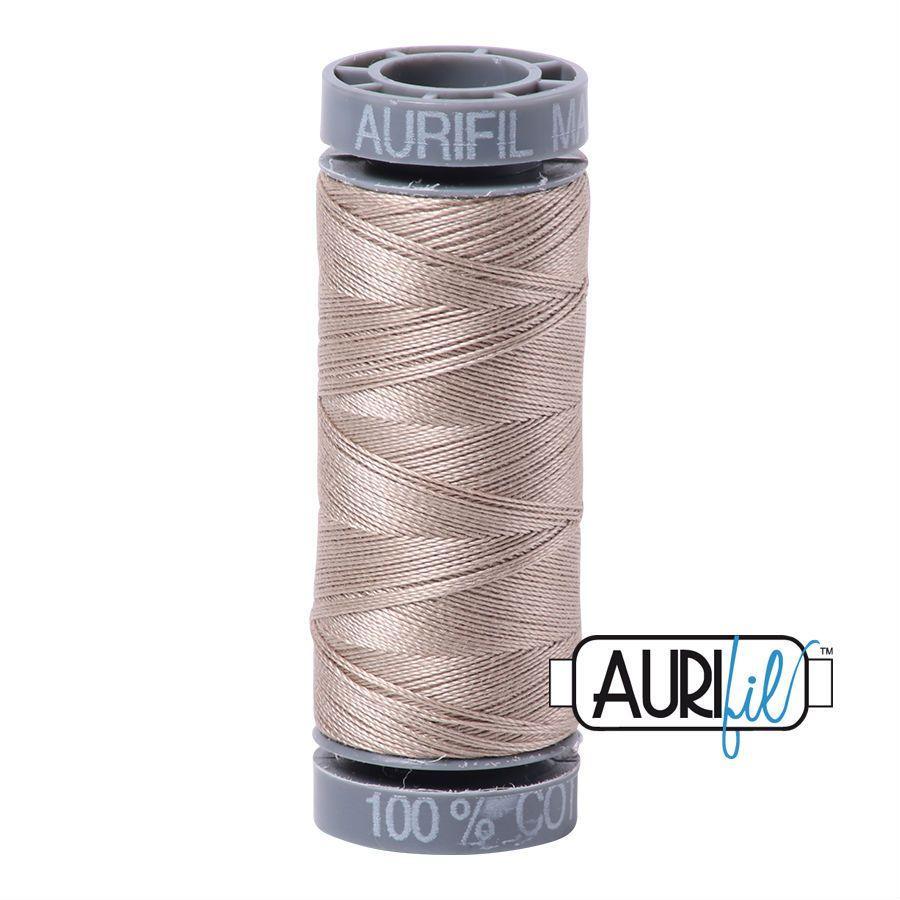 Aurifil Cotton 28wt, 5011 Rope Beige