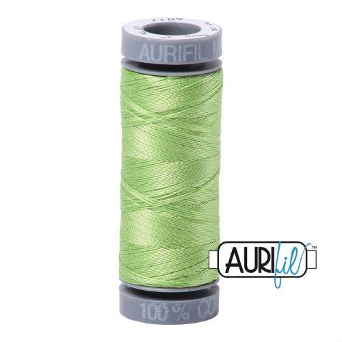 Aurifil Cotton 28wt, 5017 Shining Green