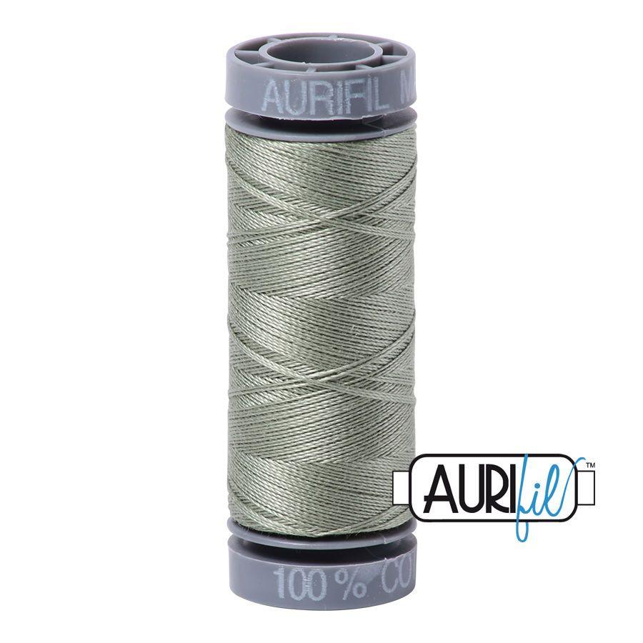 Aurifil Cotton 28wt, 5019 Military Green