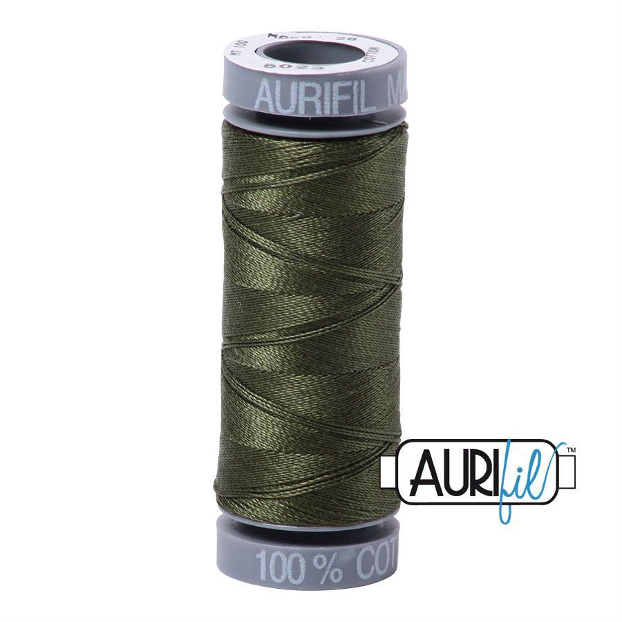 Aurifil Cotton 28wt, 5023 Medium Green