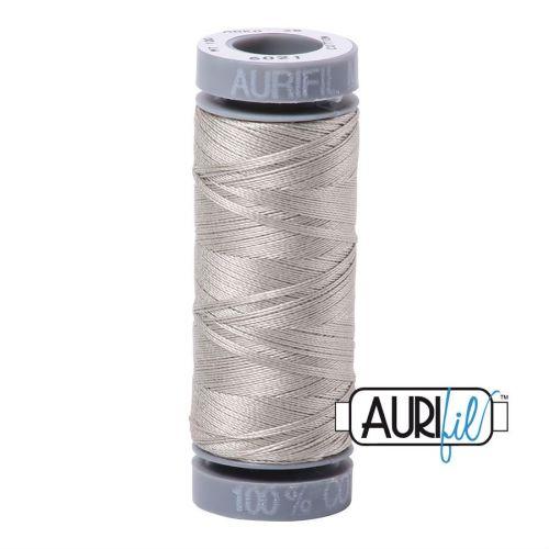Aurifil Cotton 28wt, 5021 Light Grey