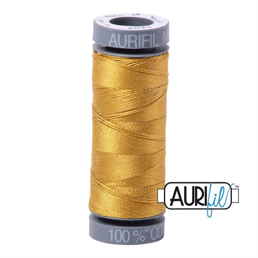 Aurifil Cotton 28wt, 5022 Mustard