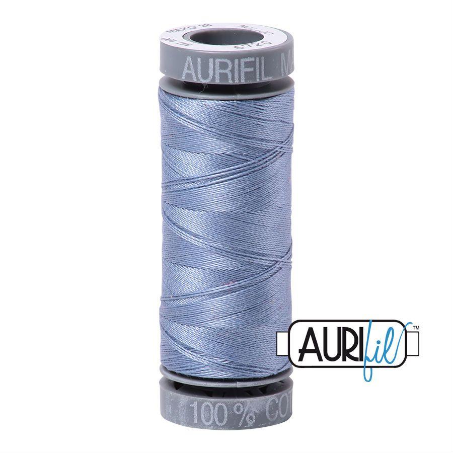 Aurifil Cotton 28wt, 6720 Slate