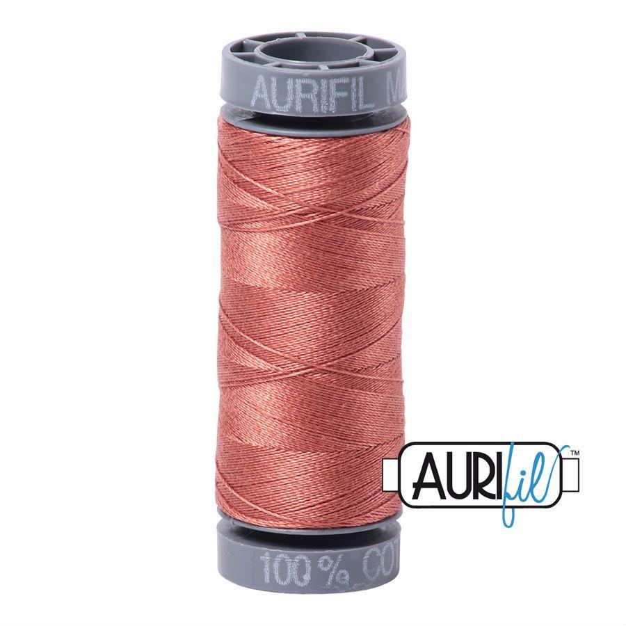 Aurifil Cotton 28wt, 6728 Cinnabar