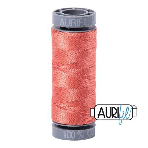 Aurifil Cotton 28wt, 6729 Tangerine Dream