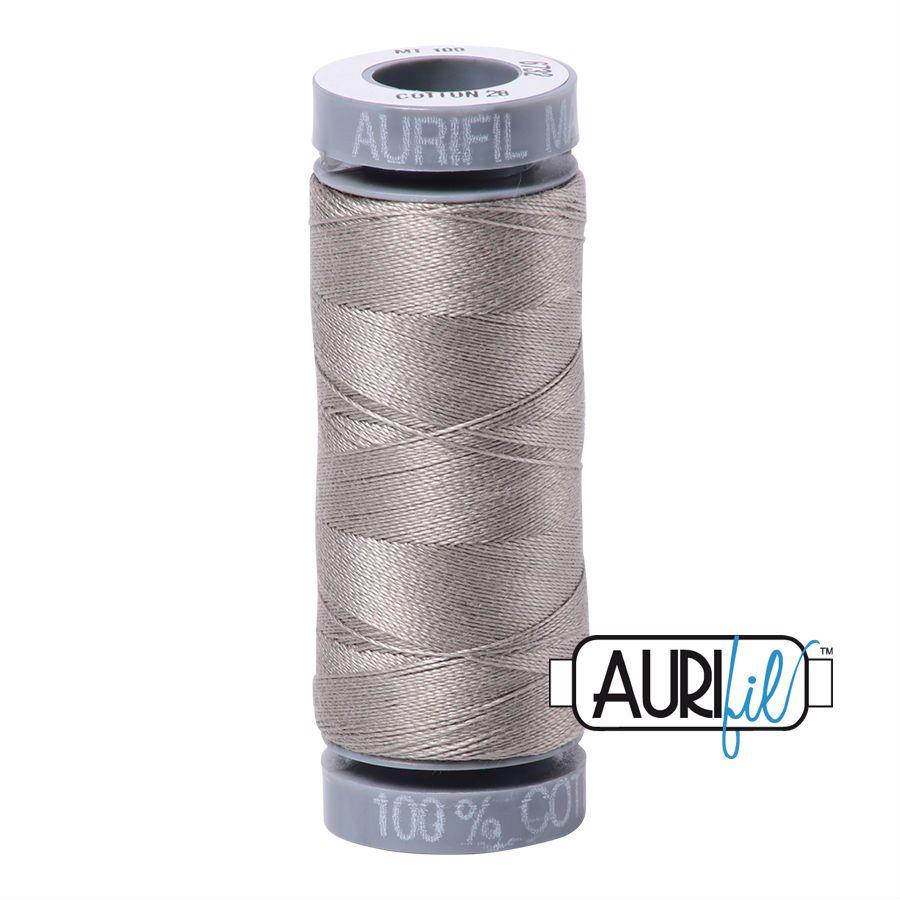 Aurifil Cotton 28wt, 6732 Earl Gray