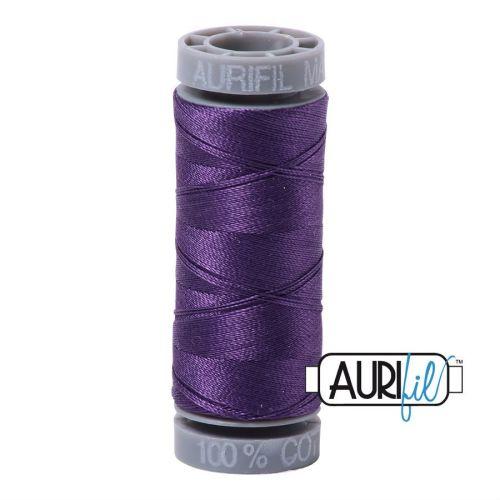 Aurifil Cotton 28wt, 4225 Eggplant