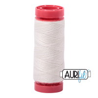 Aurifil Wool 12wt, Col. 8021 Off White