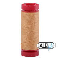 Aurifil Wool 12wt, Col. 8205 Soft Apricot