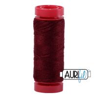 Aurifil Wool 12wt, Col. 8460 Wine