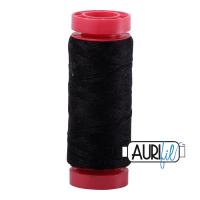 Aurifil Wool 12wt, Col. 8692 Black
