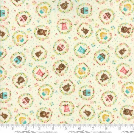 Moda - Home Sweet Home - Goldie's Story - No. 20573 11 (Cream)