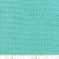Moda - Home Sweet Home - Swiss Heart - No. 20577 17 (Aqua)