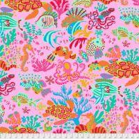Kaffe Fassett Collective - Scuba - Pink - PWBM064-PINKX