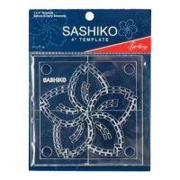 Sashiko Template - Sakura (Cherry Blossom)