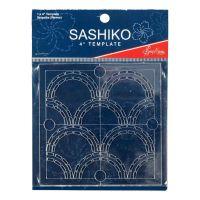 Sashiko Template - Seigaiha (Waves)