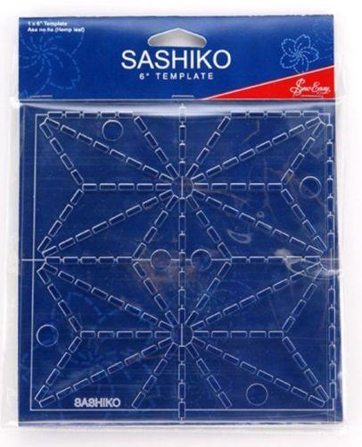Sashiko Template - Asa no ha (Hemp leaf)