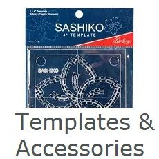 Sashiko templates and accessories