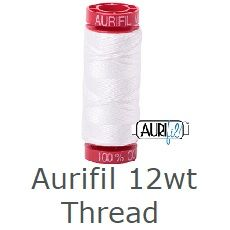 Aurifil 12wt thread