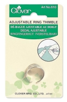 Adjustable Ring Thimble (Clover)