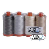 Aurifil Cotton 50wt, Best Selection