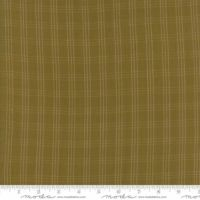 Moda - Primitive Gatherings - Homespun Gatherings - No. 12710 23 Triple Plaid (Gold)