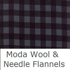wool and needle flannel