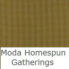 moda homespun gatherings