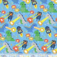 Blend Fabrics - Stacy Peterson - Meltdown - 125.103.01.1 (Light Blue)