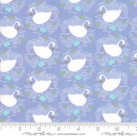 Moda - Enchanted - Swan No. 48252 16 (Lavender)