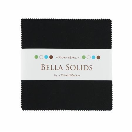 Moda - Bella Solids - Black