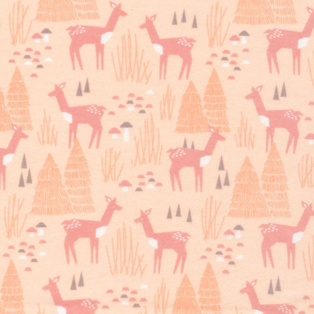 Cloud9 100% Brushed Cotton Flannel - Field Day - No. 1027-01 Roam Free (Pin