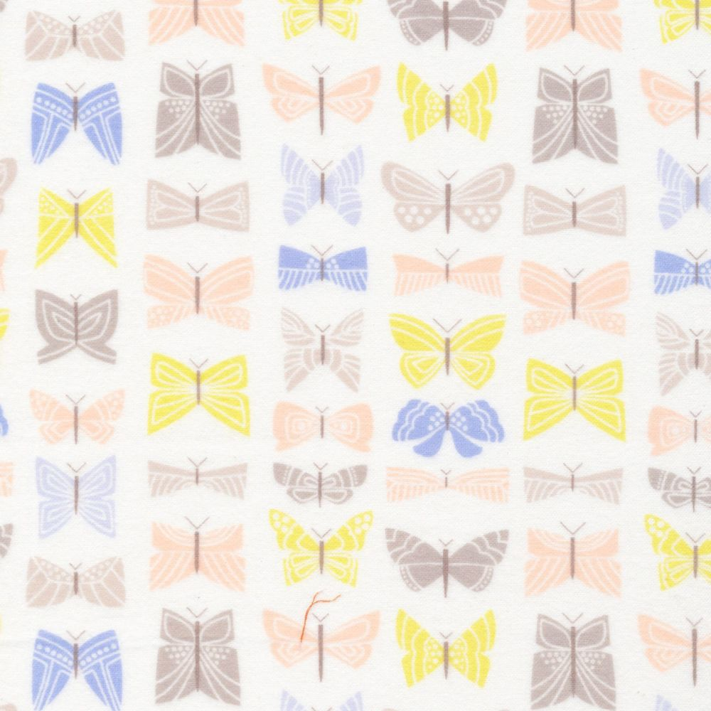 Cloud9 100% Brushed Cotton Flannel - Field Day - No. 1026-01 Flutter