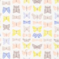 Brushed Cotton Flannel - Field Day - No. 1026-01 Flutter - Cloud 9