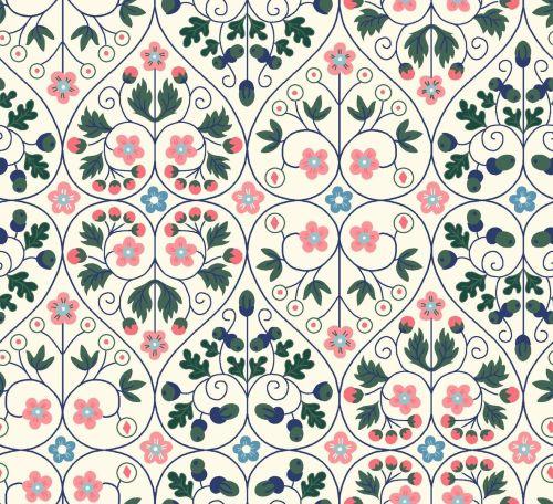 Liberty London Fabrics - Orchard Garden - Garden Gates Y