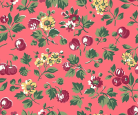 Liberty London Fabrics - Orchard Garden - Wild Cherry X