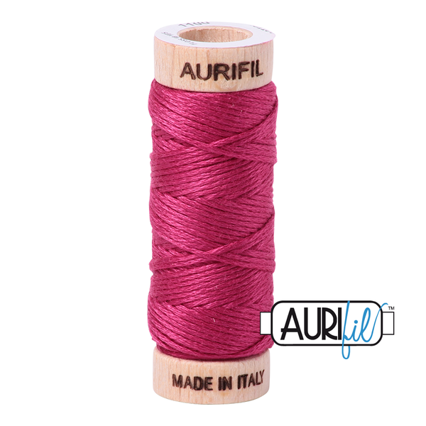 Aurifil Cotton Embroidery Floss, 1100 Red Plum