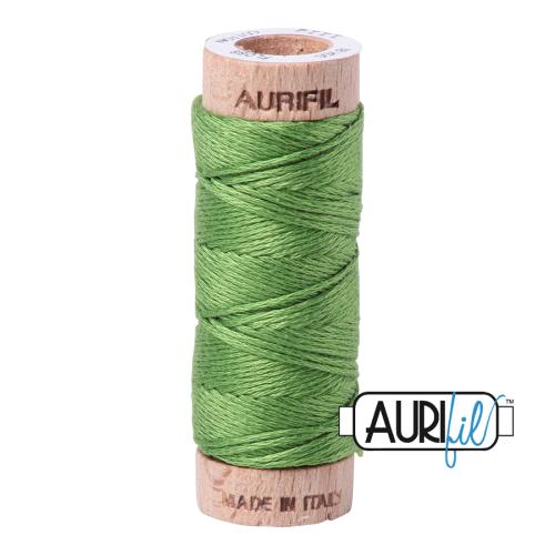 Aurifil Cotton Embroidery Floss, 1114 Grass Green