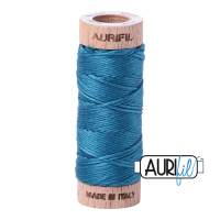 Aurifil Cotton Embroidery Floss, 1125 Medium Teal