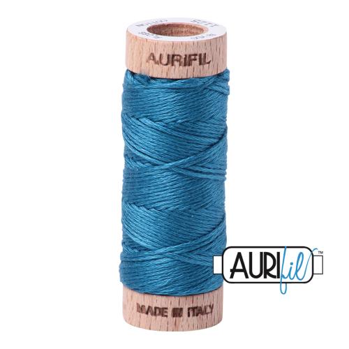 Aurifil Cotton Embroidery Floss, 1125 Medium Teal