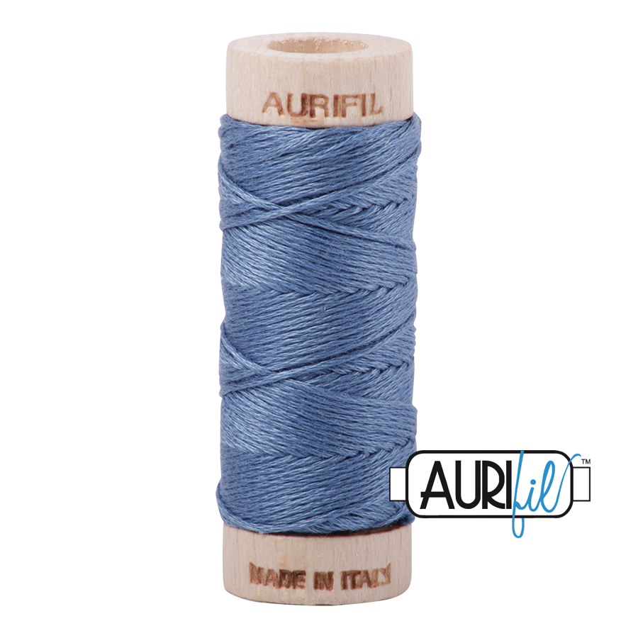 Aurifil Cotton Embroidery Floss, 1126 Blue Grey