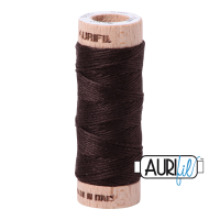 Aurifil Cotton Embroidery Floss, 1130 Very Dark Bark