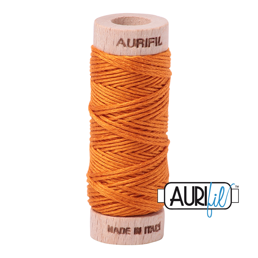 Aurifil Cotton Embroidery Floss, 1133 Bright Orange