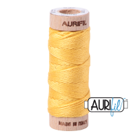 Aurifil Cotton Embroidery Floss, 1135 Pale Yellow