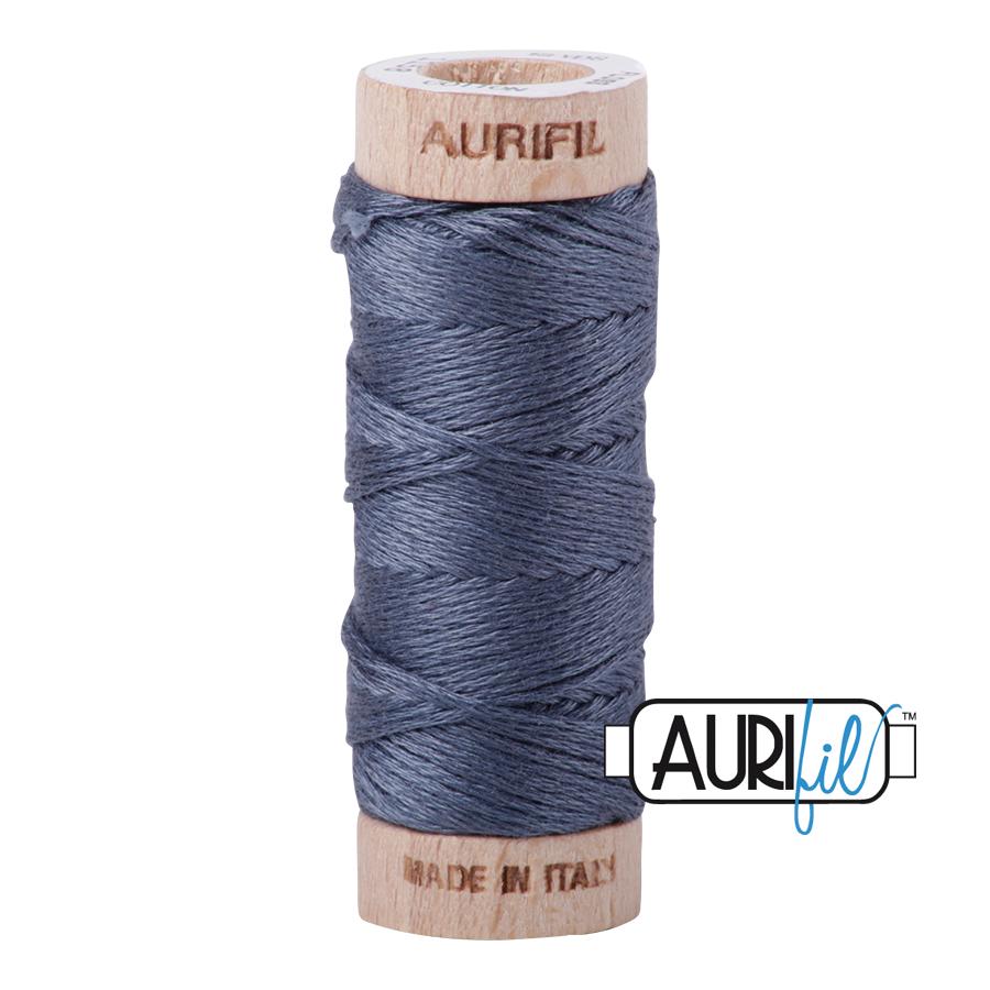 Aurifil Cotton Embroidery Floss, 1158 Medium Grey