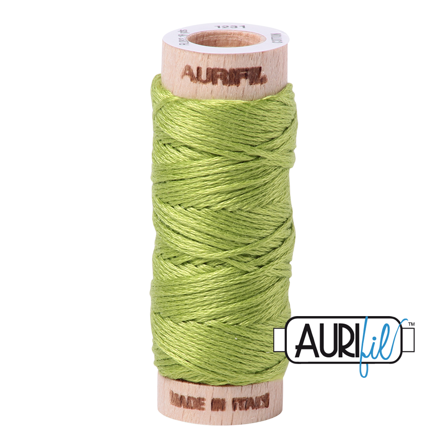 Aurifil Cotton Embroidery Floss, 1231 Spring Green