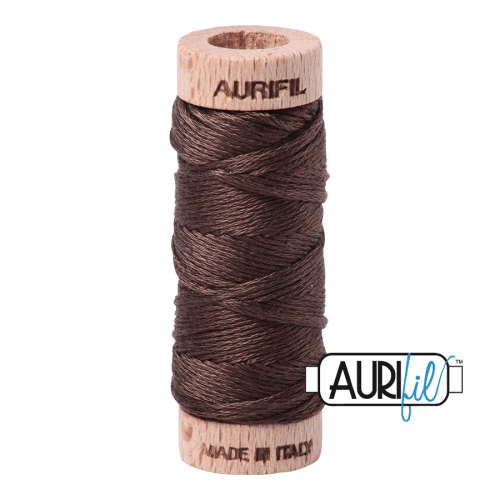 Aurifil Cotton Embroidery Floss, 1140 Bark