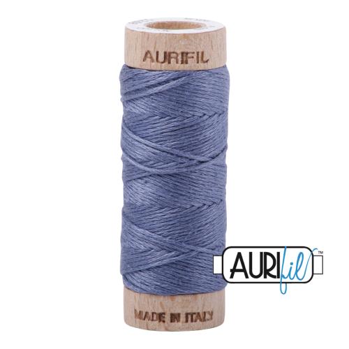 Aurifil Cotton Embroidery Floss, 1248 Dark Grey Blue